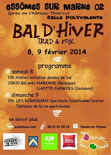 Affiche Bal folk