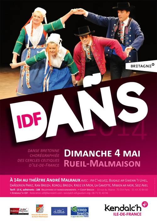 Affiche Spectacle Dañs-IDF à Rueil-Malmaison