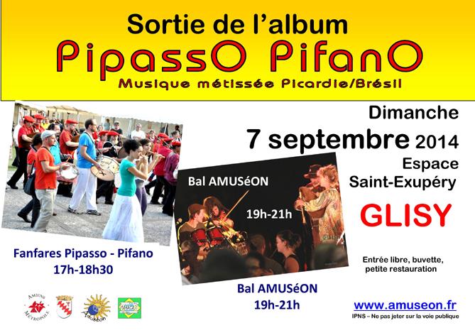 Affiche Bal folk fête de sortie de l'album