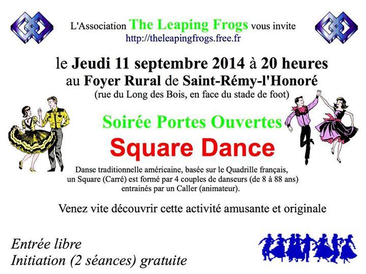 Affiche Atelier square dance (chaque lundi ou jeudi) à Saint-Rémy-l'Honoré