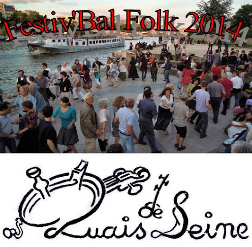 Affiche Bal folk bal folk de clôture - Quai St Bernard à Paris