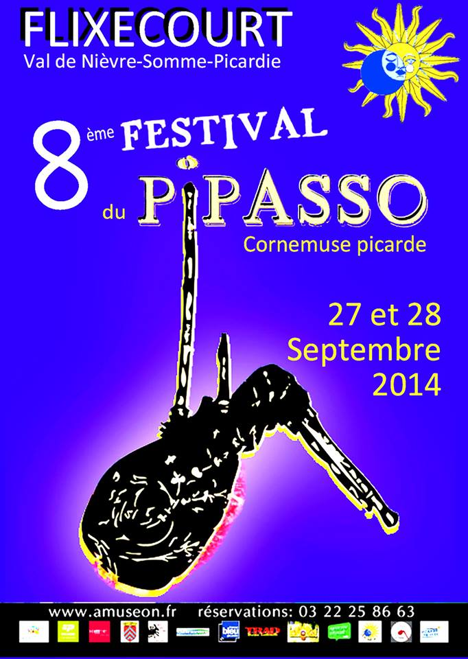 Affiche Bal folk grand bal du pipasso à Flixecourt