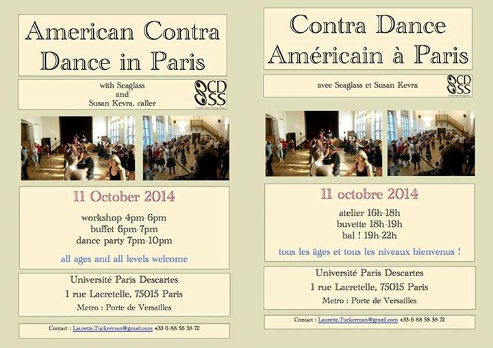 Affiche Bal contra dance