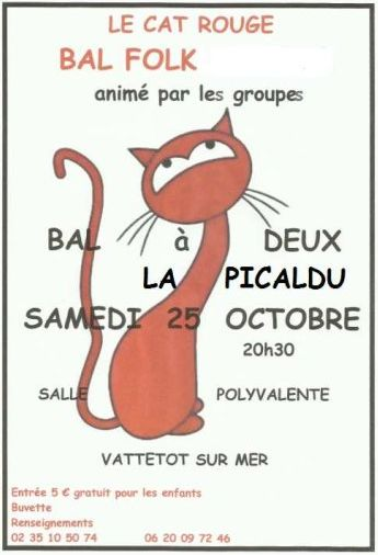 Affiche Bal folk  à Vattetot-sur-Mer