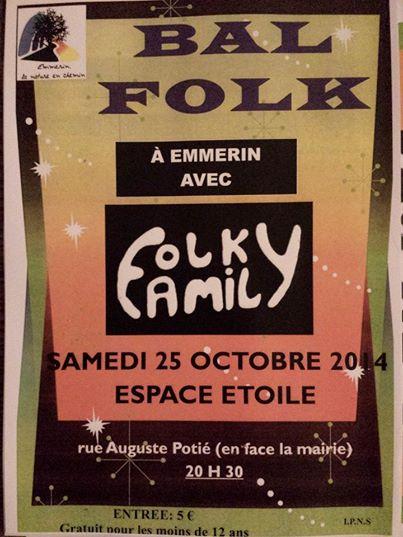 Affiche Bal folk  à Emmerin