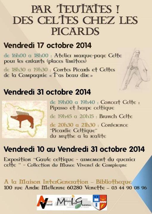 Affiche Autre Des Celtes en Picardie à Venette
