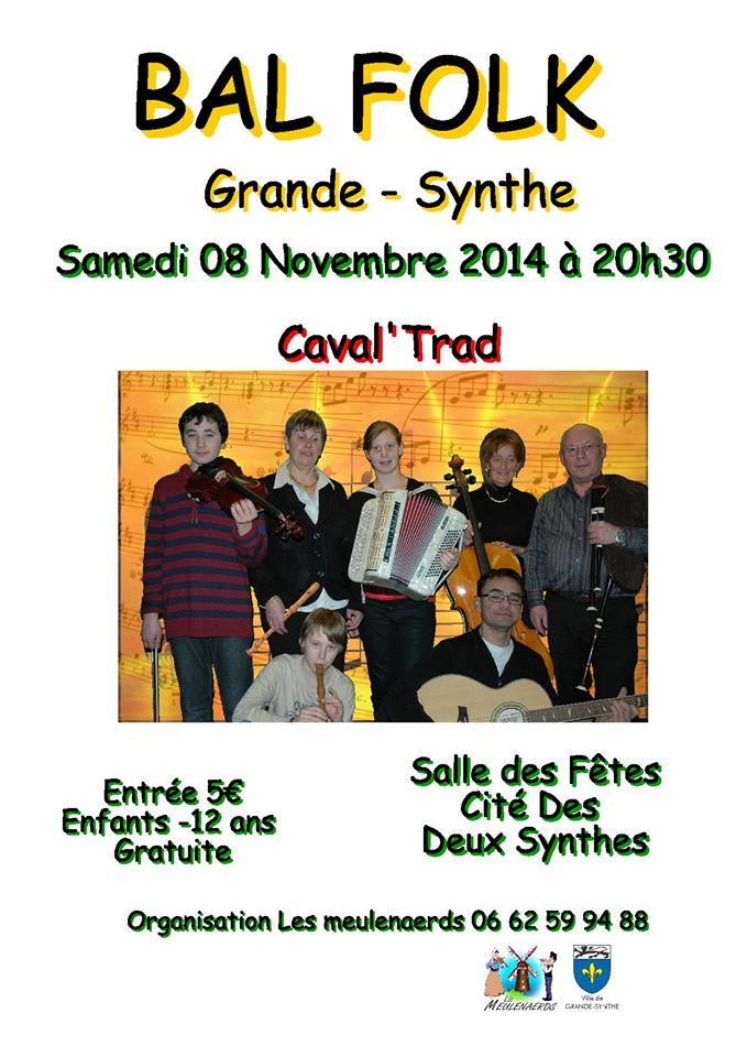 Affiche Bal folk  à Grande-Synthe