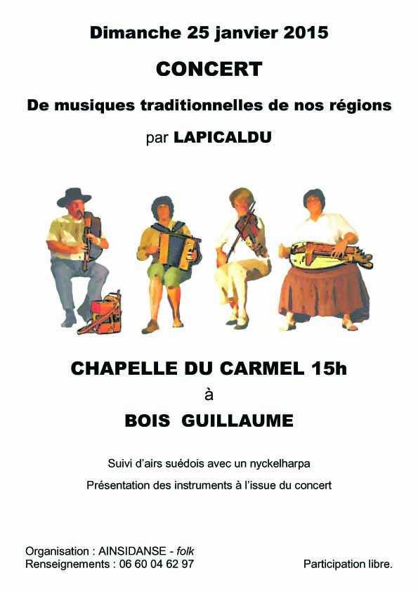 Affiche Concert  à Bois Guillaume