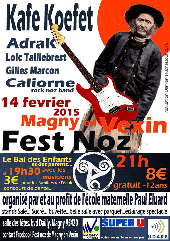 Affiche Fest-noz  à Magny-en-Vexin