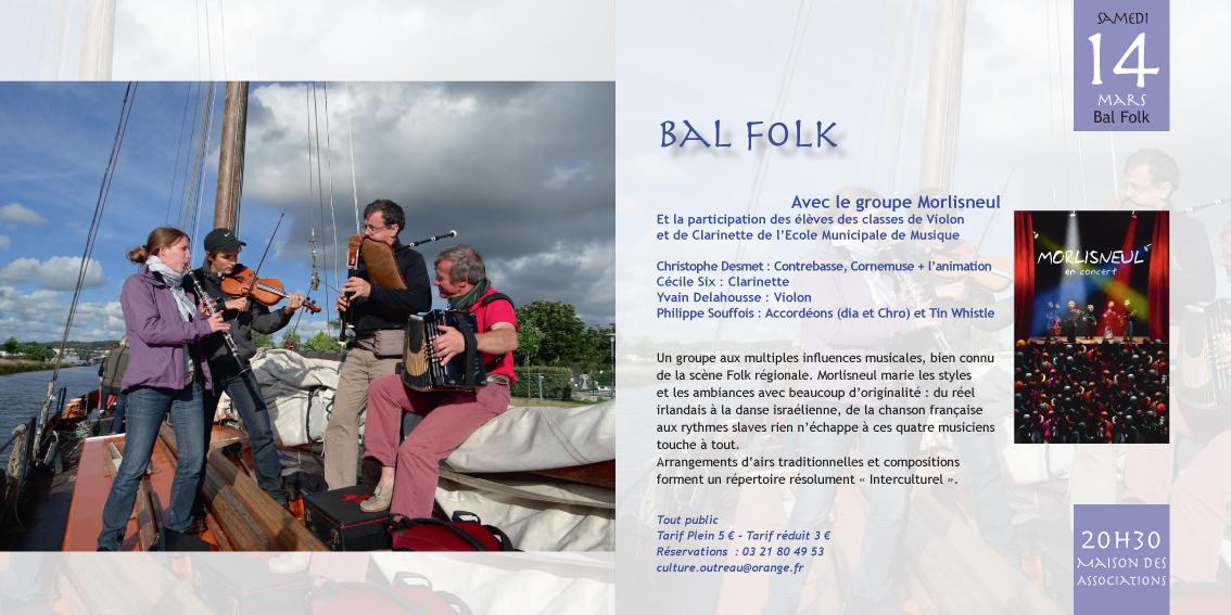 Affiche Bal folk  à Outreau