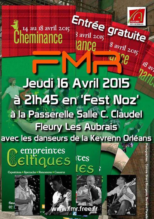 Affiche Fest-noz FMR @ La Passerelle à Fleury-les-Aubrais