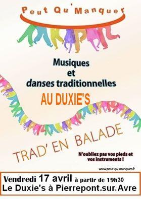 Affiche Musique Trad en balade à Pierrepont-sur-Avre