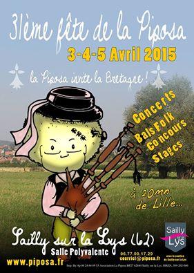 Affiche Concert 31ème fête de la Piposa - Grande soirée cabaret à Sailly-sur-la-Lys