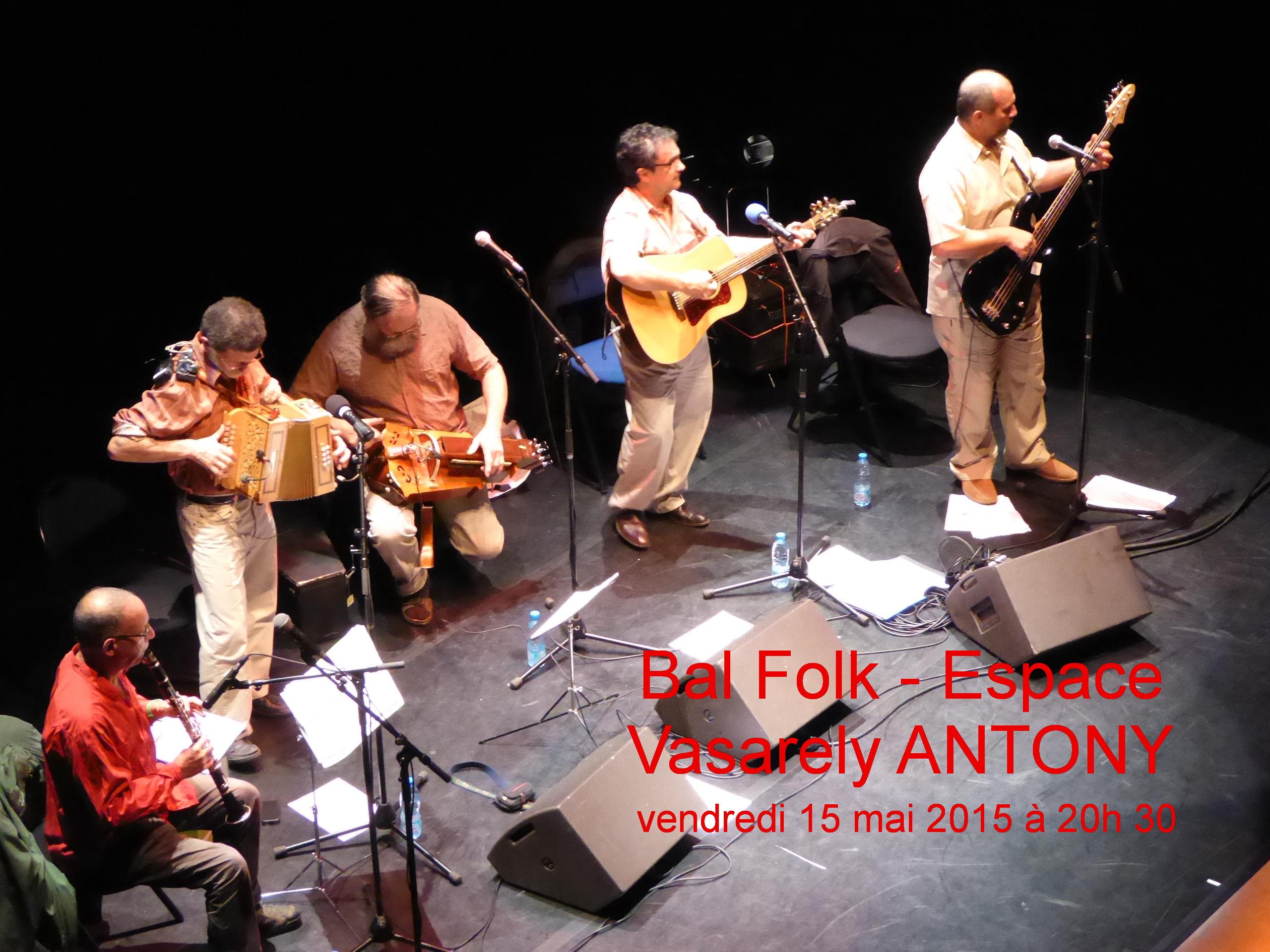 Affiche Bal folk  à Antony