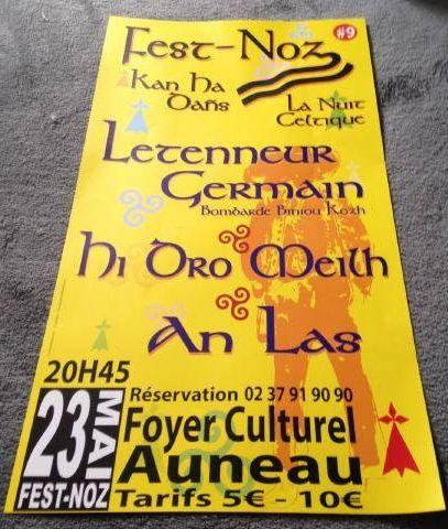 Affiche Fest-noz  à Auneau