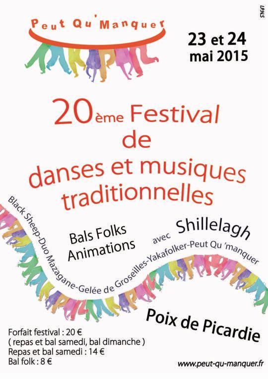 Affiche Bal folk  à Poix-de-Picardie