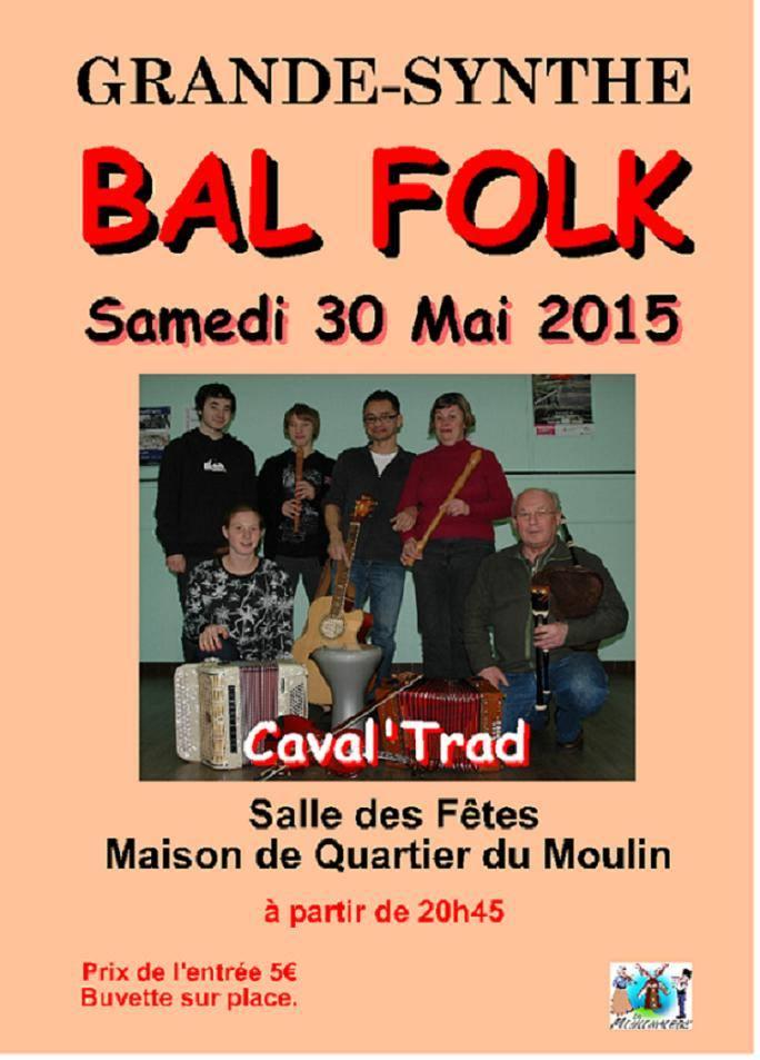 Affiche Bal folk  à Grande Synthe