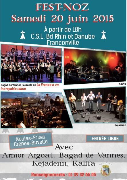 Affiche Fest-noz  à Franconville