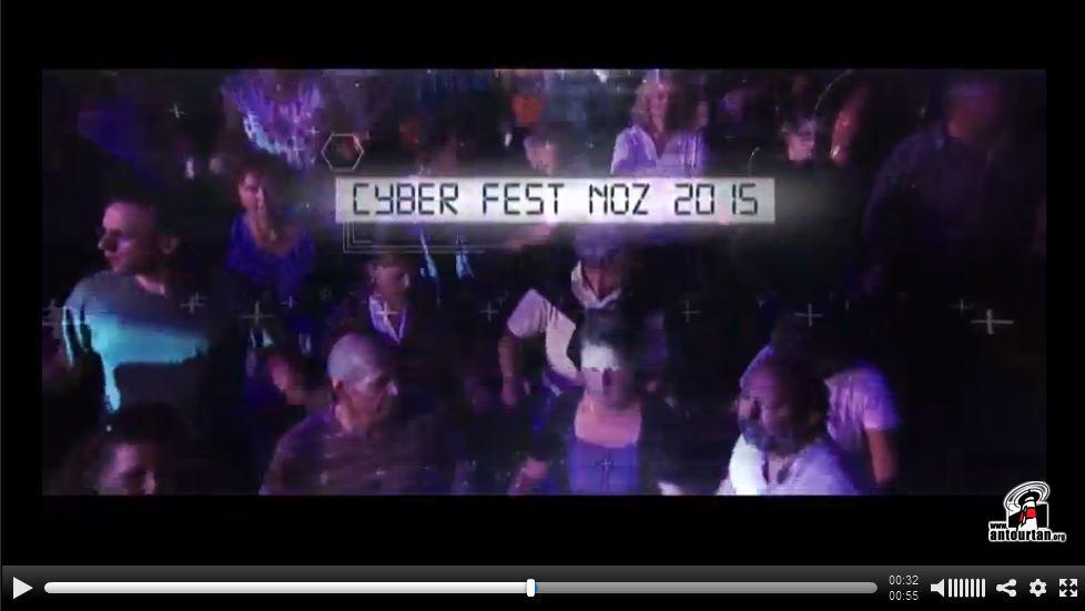 Affiche Fest-noz cyber fest-noz 2015 à