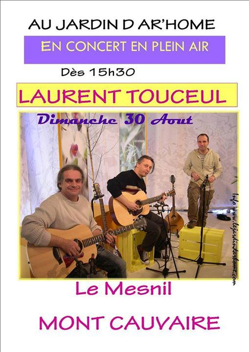 Affiche Concert Laurent Touceul Trio à Mont Cauvaire