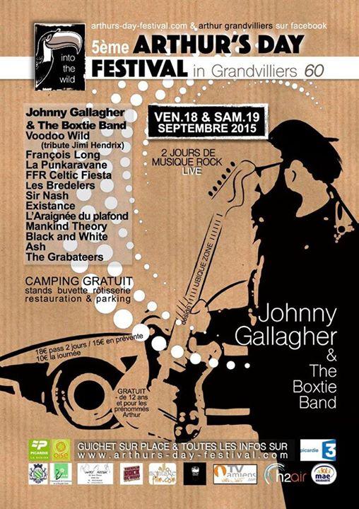 Affiche Concert The Grabateers à Arthur's Day Festival in Grandvilliers à Grandvilliers