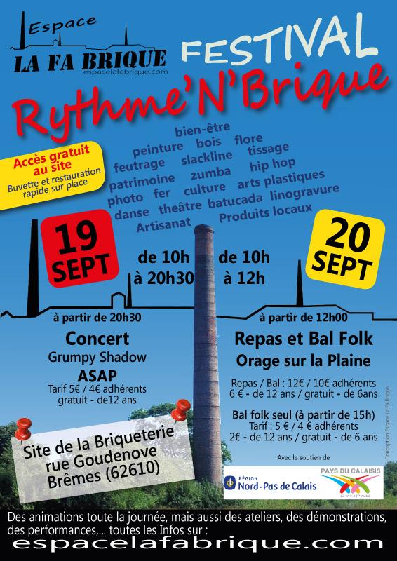 Affiche Bal folk bal + stage danse folk à Brêmes
