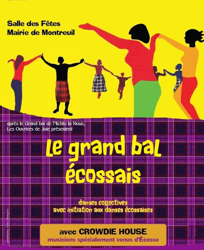Affiche Bal folk le grand bal écossais à 17 rue Hoche