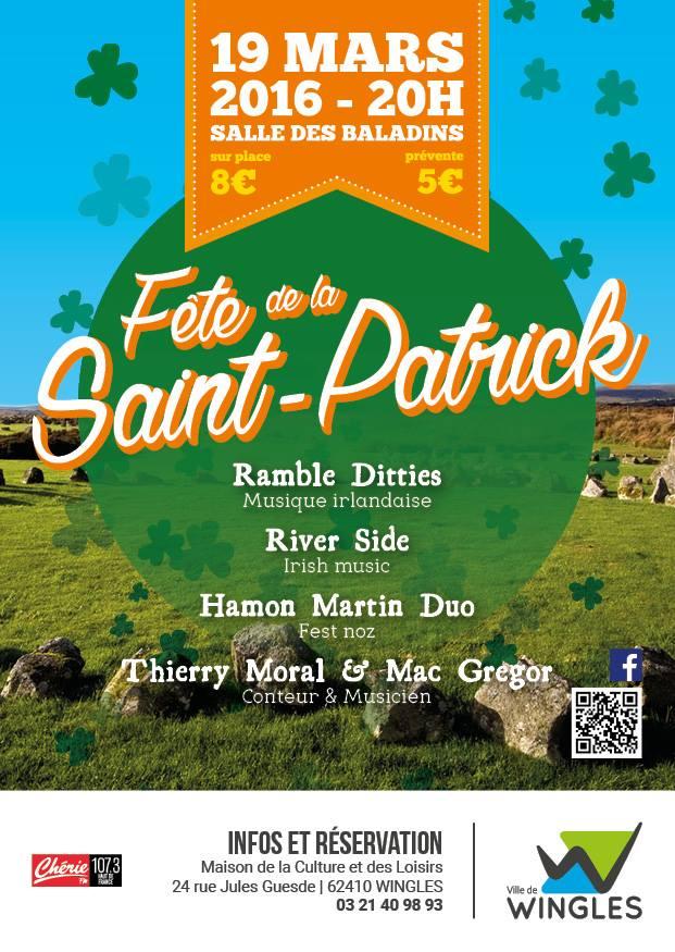 Affiche Autre Saint Patrick à Wingles