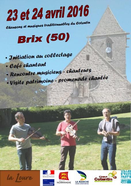 Affiche Festival rencontres de printemps de La Loure à Brix