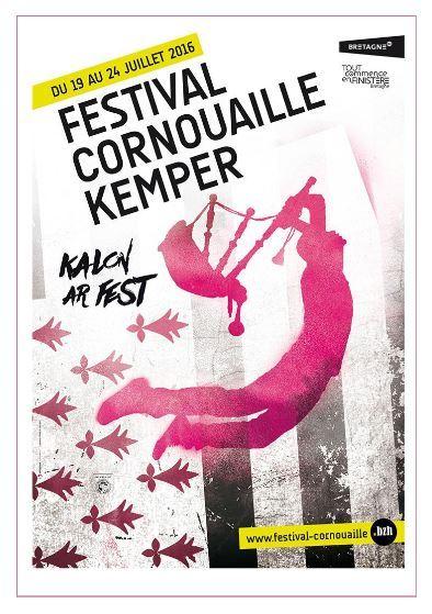 Affiche Fest-noz cyber fest-noz 2016 à