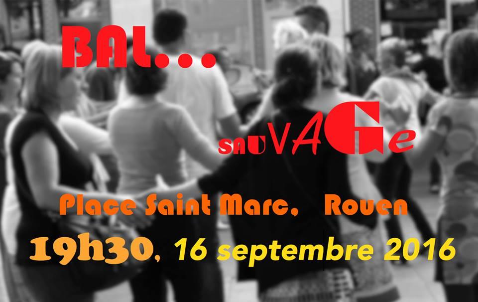 Affiche Bal folk Le Bal Sauvage à Rouen