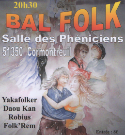 Affiche Bal folk  à Cormontreuil