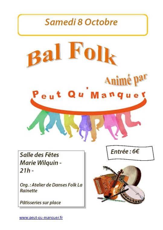 Affiche Bal folk  à Maresquel-Ecquemicourt