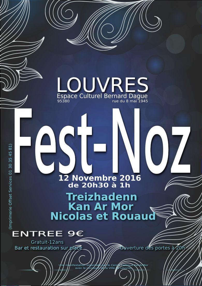 Affiche Fest-noz  à Louvres