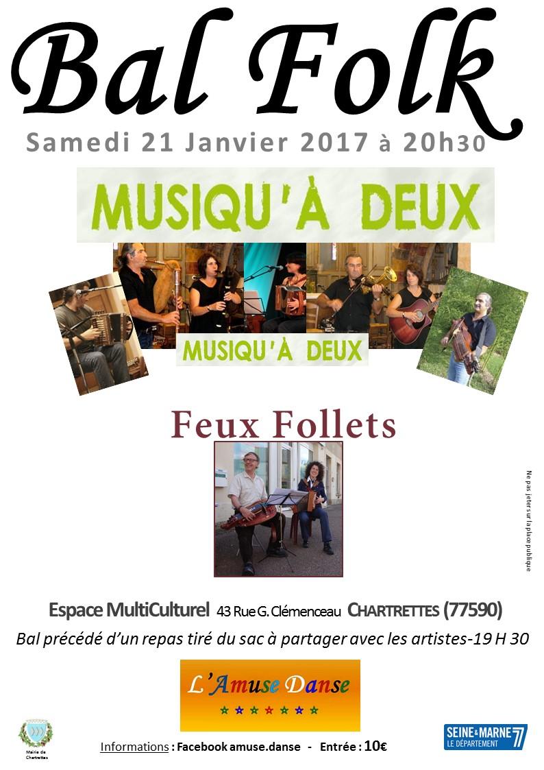 Affiche Bal folk  à Chartrettes