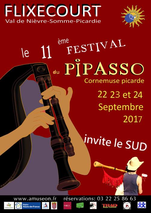 Affiche Festival bal du pipasso à Flixecourt