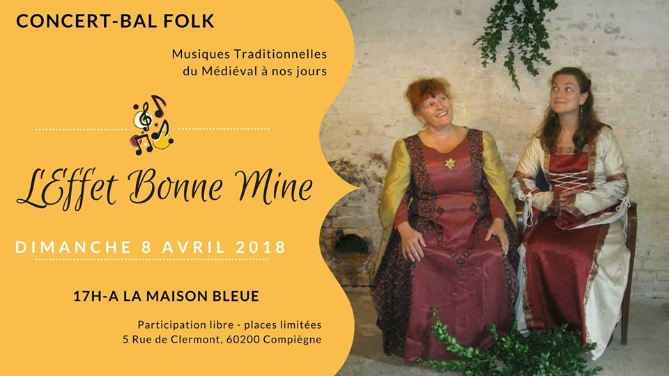 Affiche Concert concert-bal folk à Compiegne