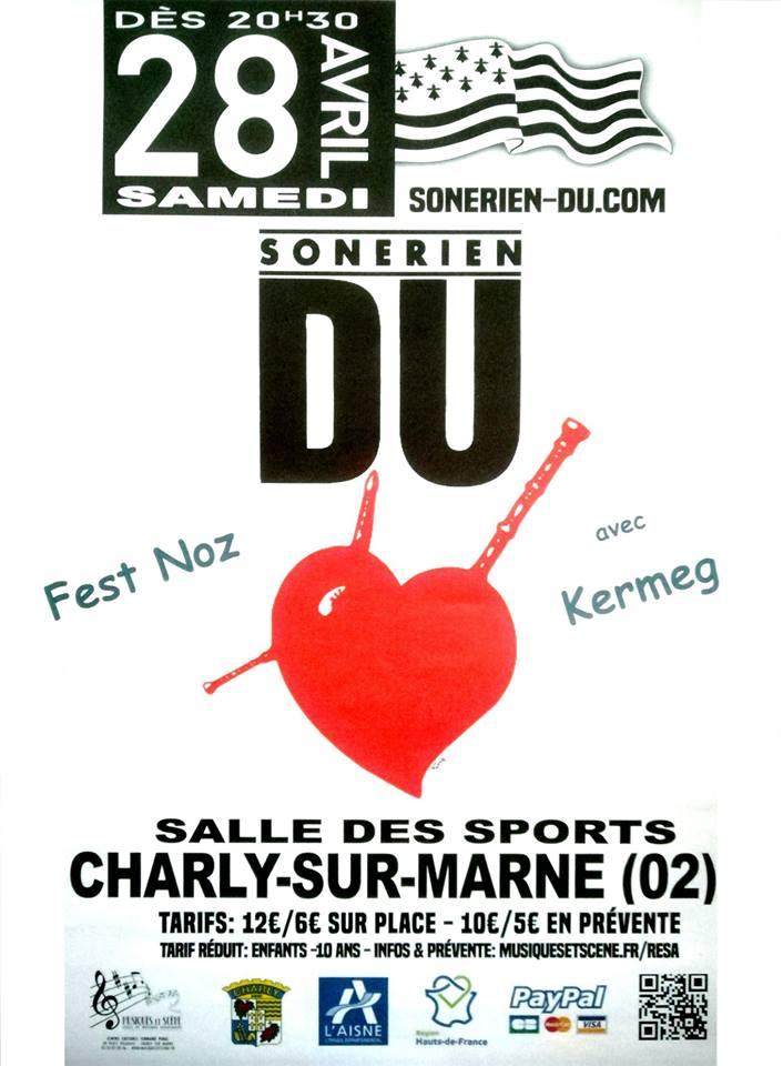 Affiche Fest-noz  à Charly-sur-Marne