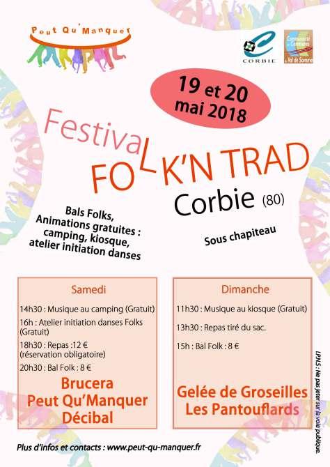 Affiche Bal folk Folk N Trad à Corbie