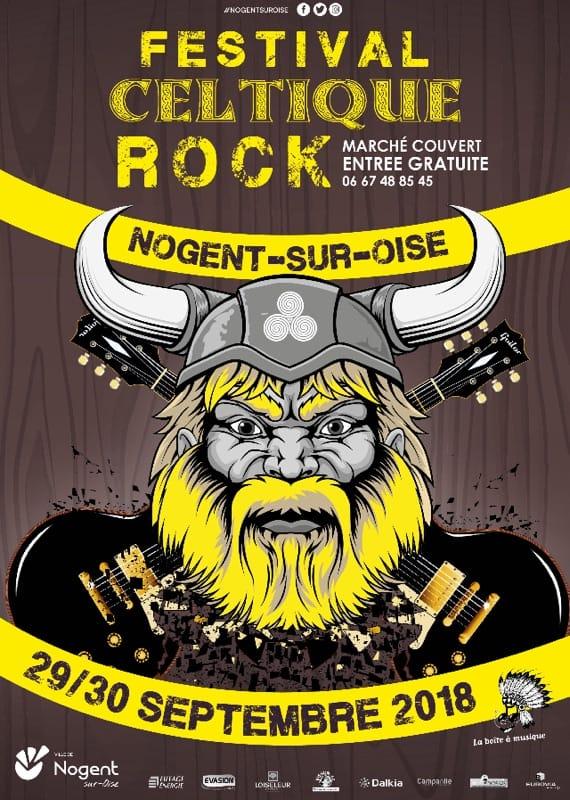 Affiche Festival festival celtique rock de Nogent sur Oise à Nogent-sur-Oise